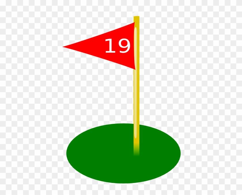 Golf Flag Hole 2 #380936