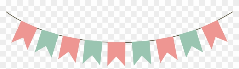 Bunting Banner Party Clip Art - Bunting Vector #381024