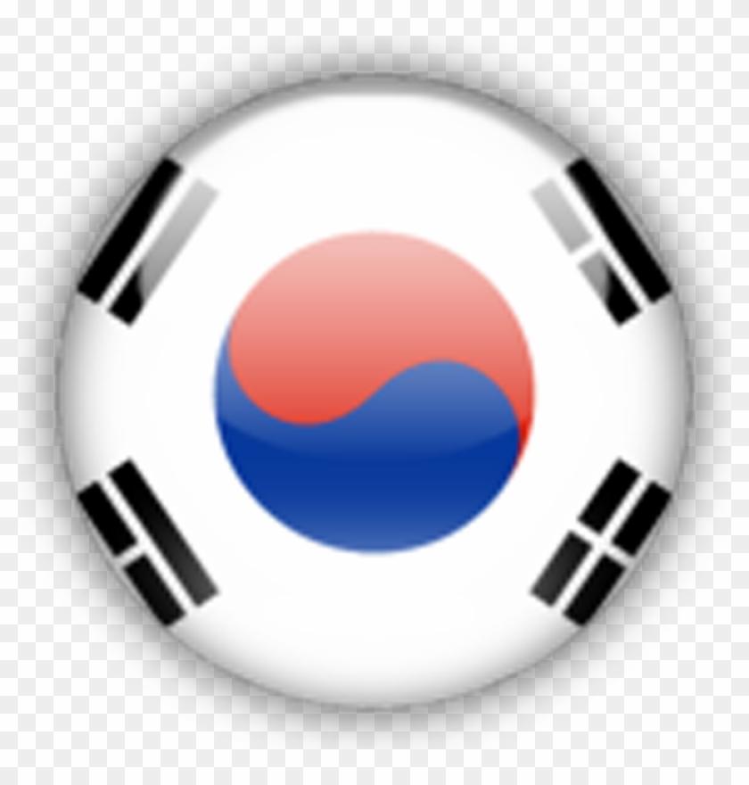 Crystal Glossy Graphic Flag Wallpaper Of South Korea Korean Flag