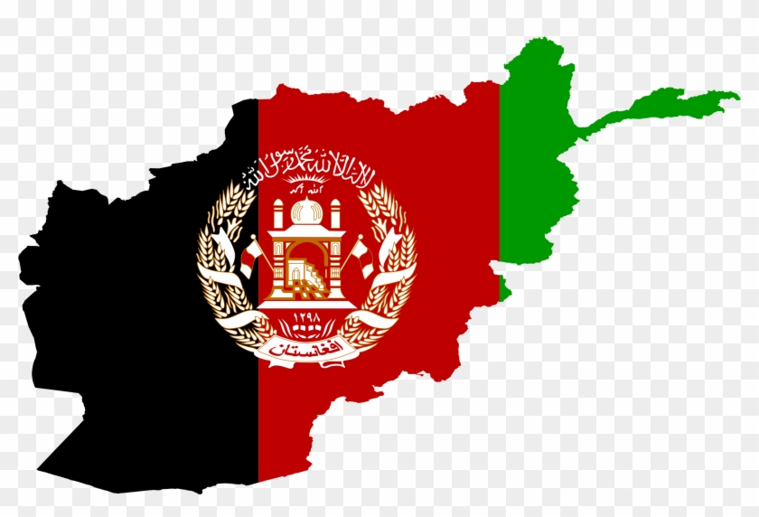 Flag Map - Afghanistan Flag Map World - Free Transparent PNG Clipart ...