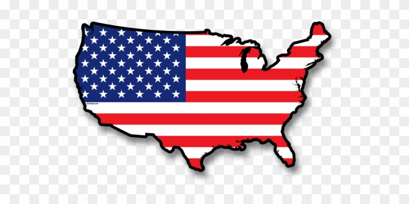 Us Flag - Denotes An Image In The Public Domain #381300