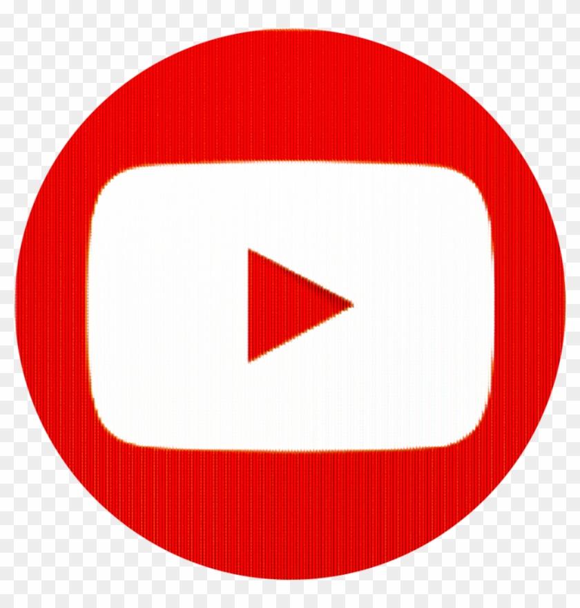 Youtube - Youtube Icon Rund #381541