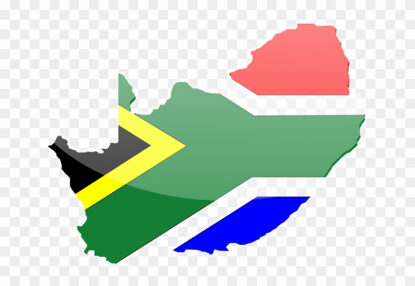 South African Flag Vector - Poverty In South Africa #381547