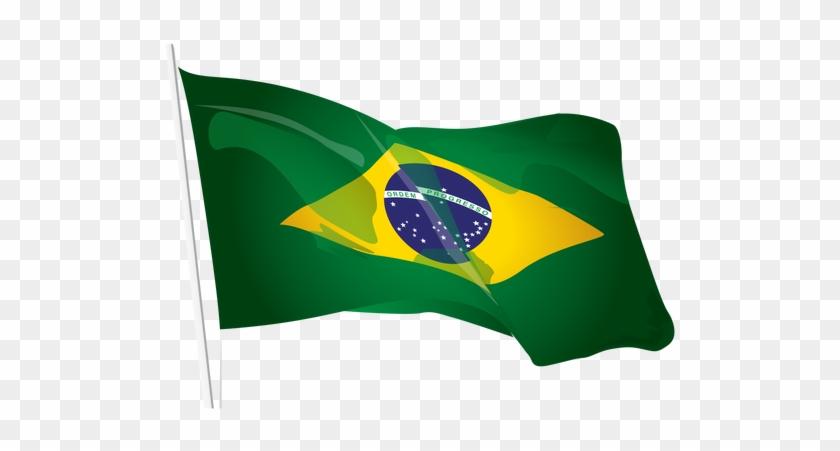 Brazil Flag Png Photos - Vetor Bandeira Do Brasil Png #381597