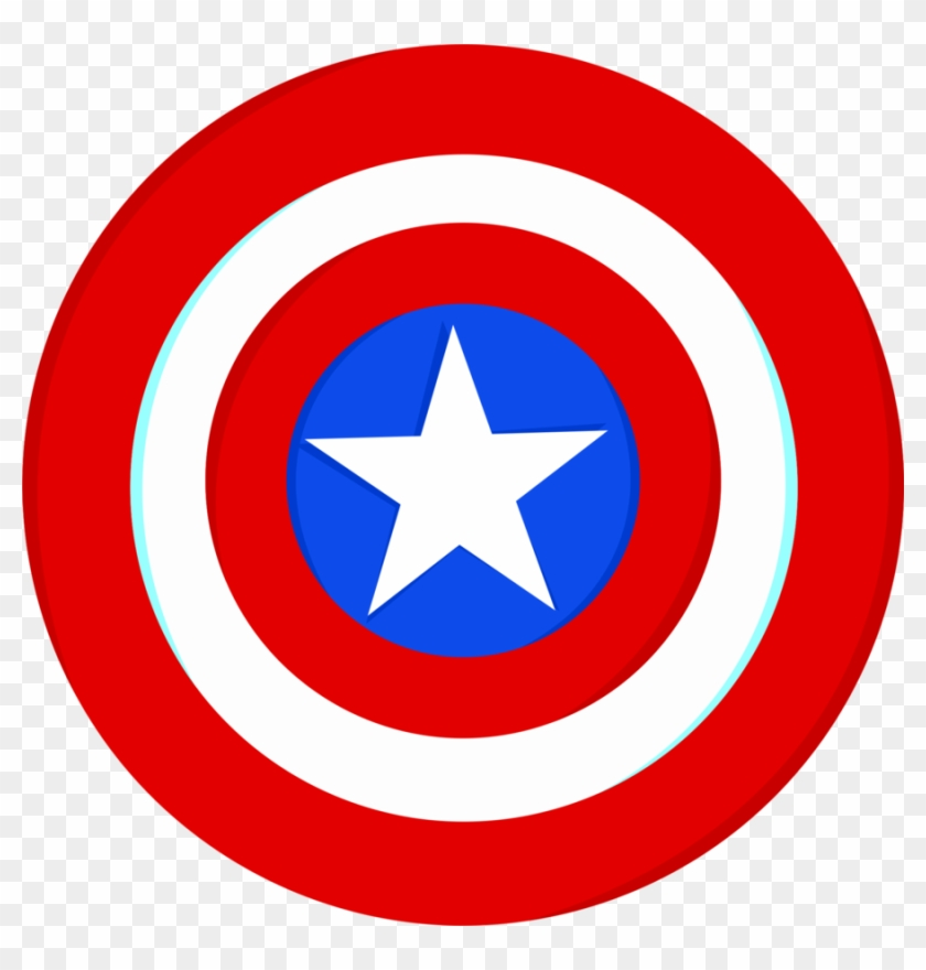 This is a photo of Stupendous Captain America Shield Printable