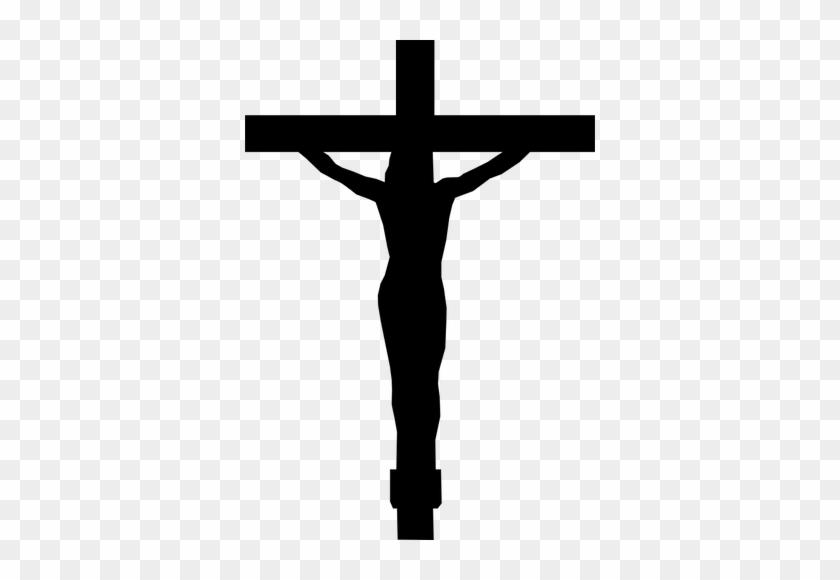 Wondrous Design Clipart Cross 702 Christian Public - Christ On The Cross #382111