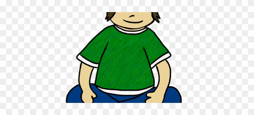 Child Sitting Criss Cross Clipart Sit Picture For Classroom - Criss Cross Applesauce Position #382137