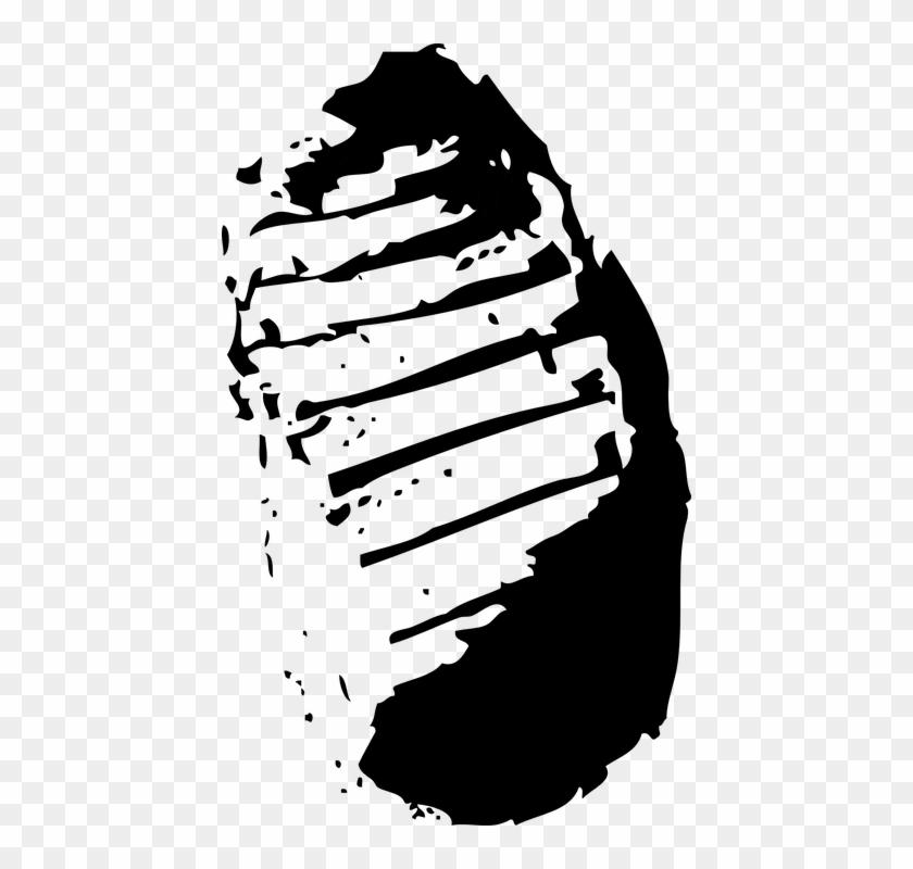 Spooky Tree Clipart 23, - Footprint On The Moon #382287