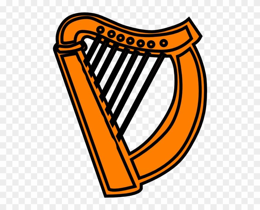 Download Irish Harp Clipart - Celtic Harp Clip Art #382332