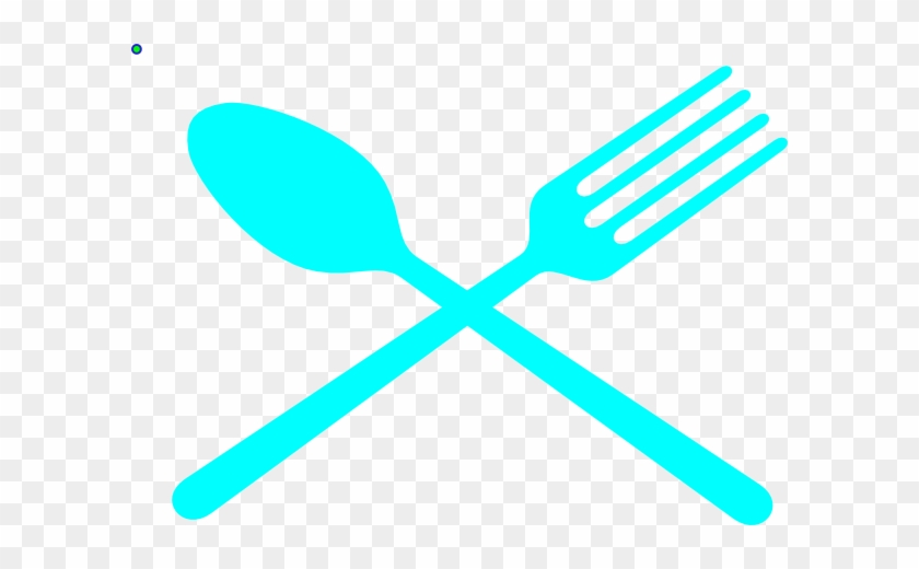 Fork And Spoon Cross Svg Clip Arts 600 X 440 Px - Red Fork And Knife Png #382526