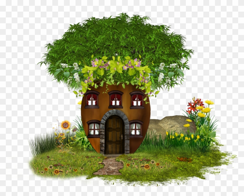 Tree House Clipart Png #382691