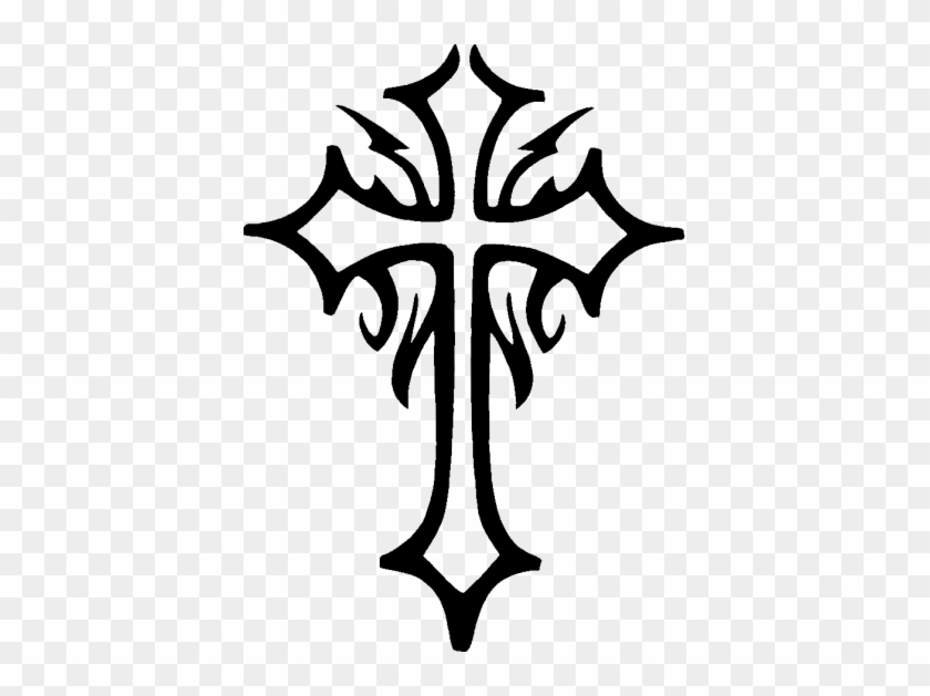 Celtic Cross Png Clipart Simple Tribal Cross Tattoo Designs Free