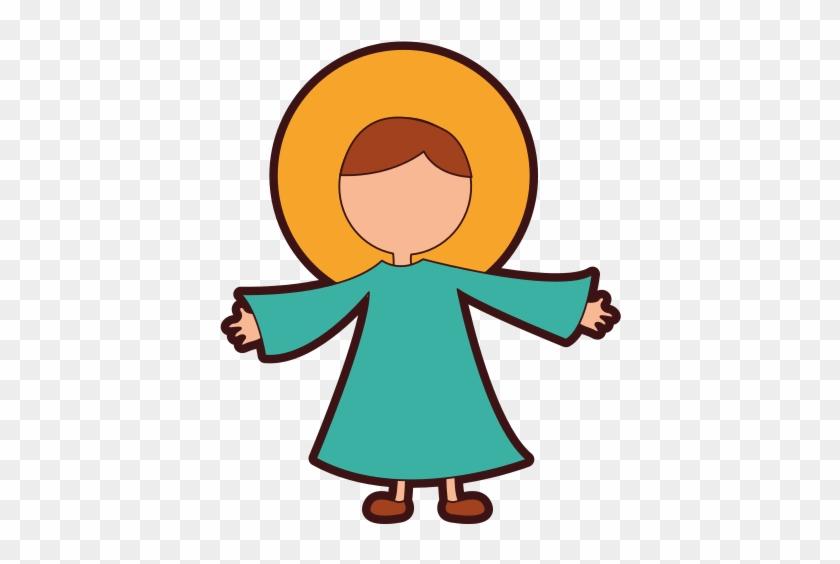 Little Jesus Baby Manger Character
