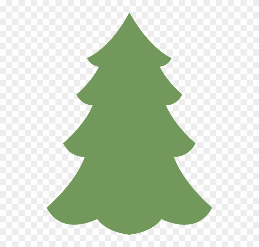 Xmas Tree Silhouette 17, - Christmas Tree Illustration Png #383853 - Xmas Tree Silhouette 17, - Christmas Tree Illustration Png - Free