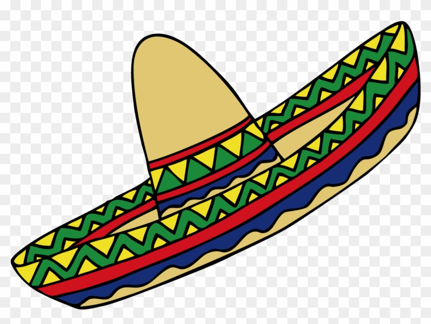 Mexican Hat Mexico Clip Art - Clipart Mexican Hat #383879