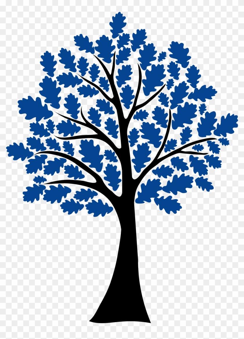 Tree - Oak Tree Clip Art #384211