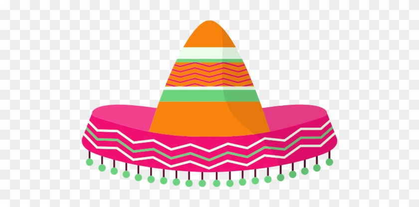 Mexican Hat Free Icon - Mexican Sombrero Transparent Background #384353