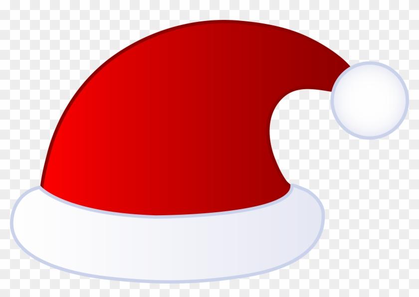 Red Santa Claus Hat - Santa Claus Hat Clipart #384395
