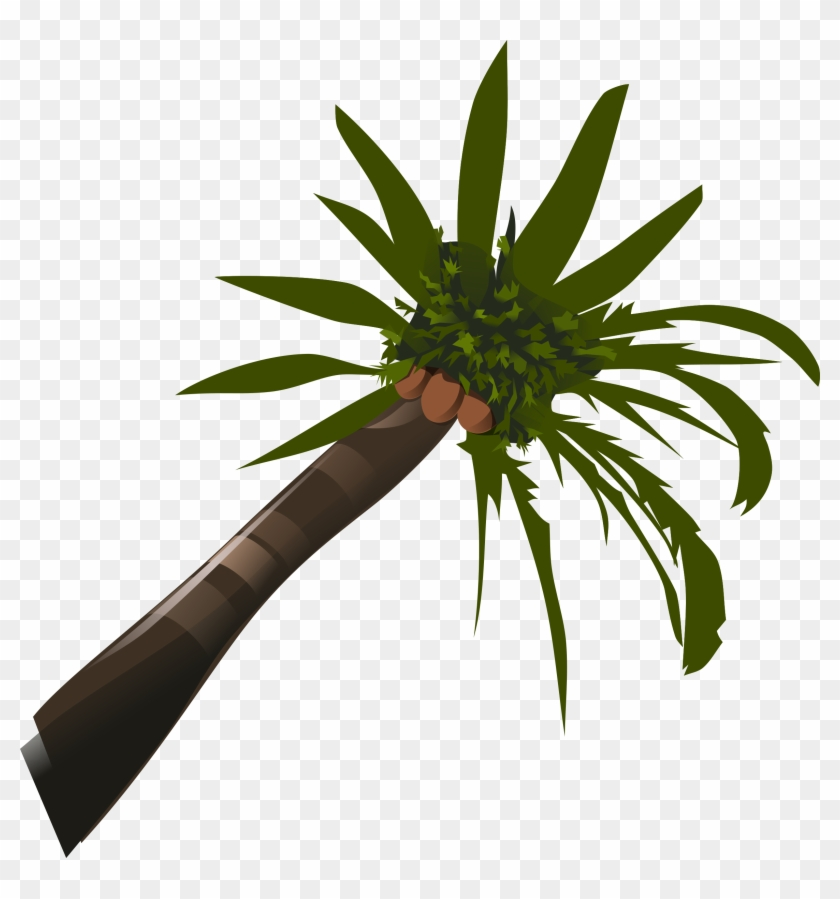 This Free Icons Png Design Of Coconut-palm - Palm Tree Clip Art #384469