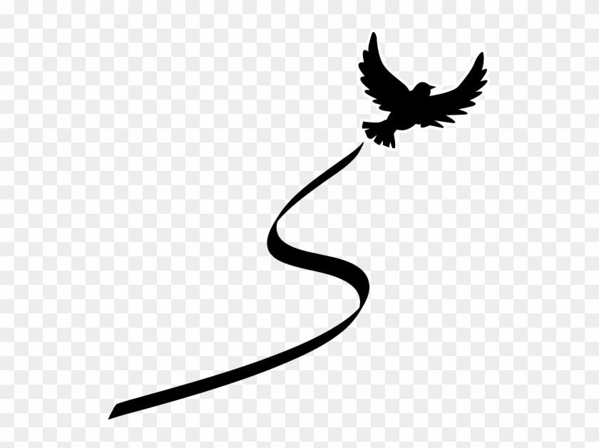 Images of Dove Silhouette Tattoo - #rock-cafe