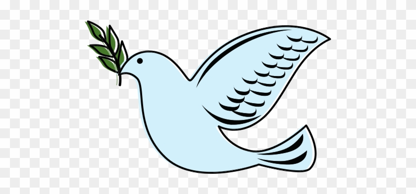 Dove With Olive Branch Png Images Transparent Png - Symbol Of Peace Bird  Name , Free Transparent Clipart - ClipartKey