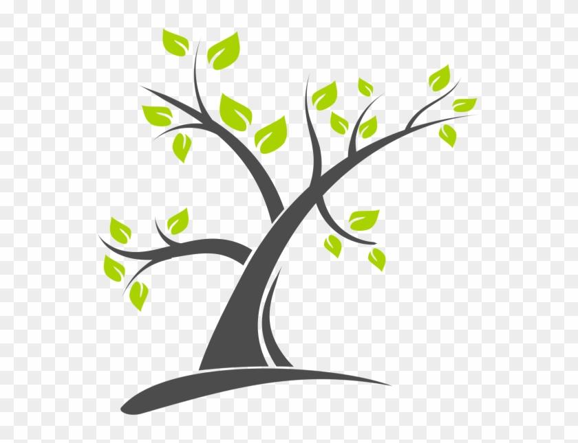 Tree Logo Design Vector, Png - Tree Vector Logo Png #384754