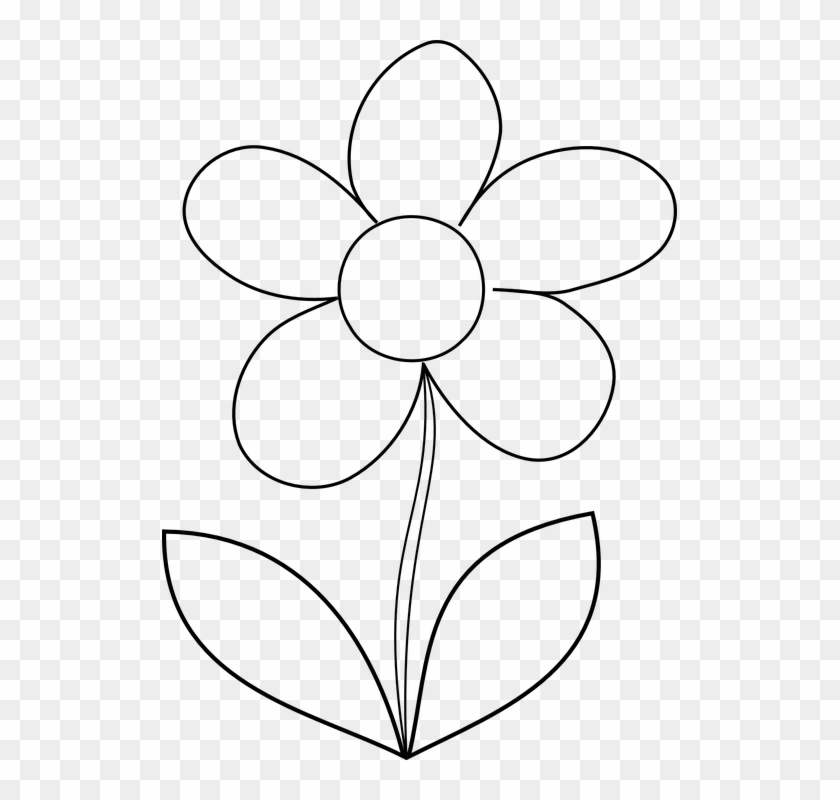 leaf outline cliparts 25 free printable flower template free