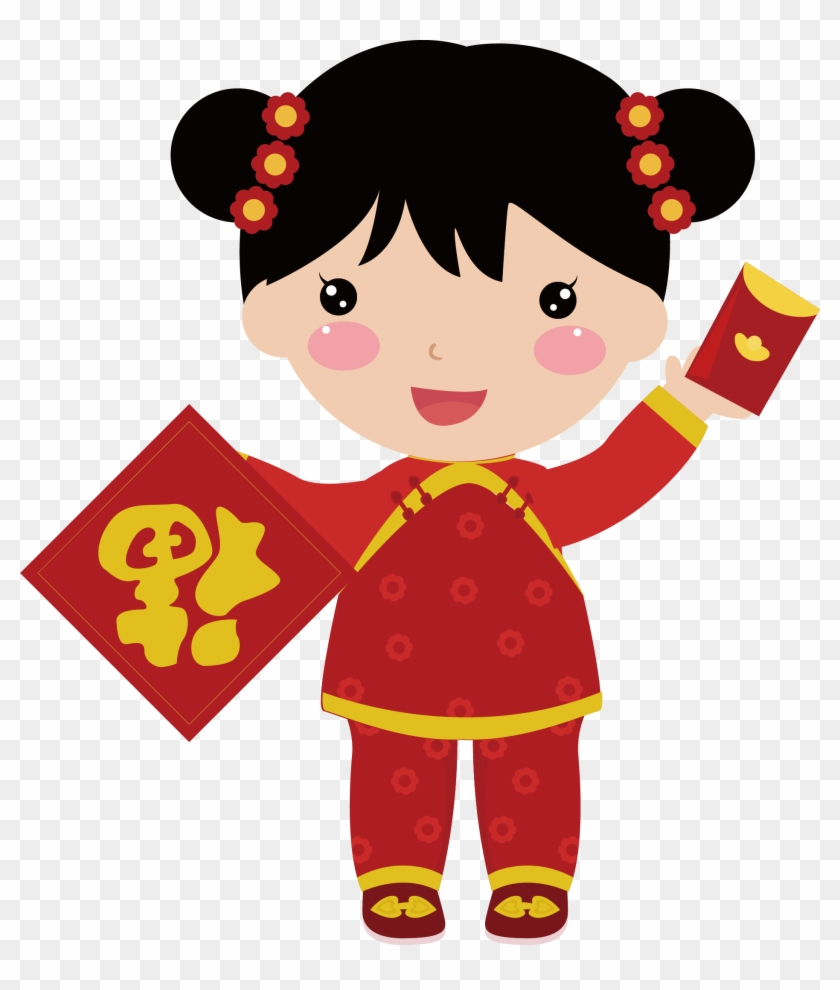 chinese new year doll child chinese new year doll child free transparent png clipart images download chinese new year doll child chinese