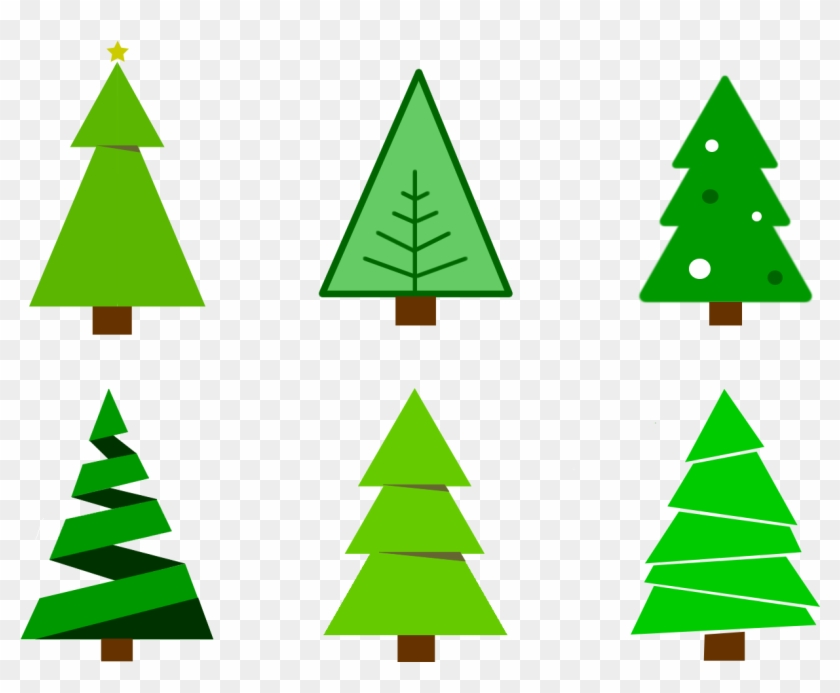 Chirstmas Tree Clipart Free Colour Christmas Tree Vector Christmas