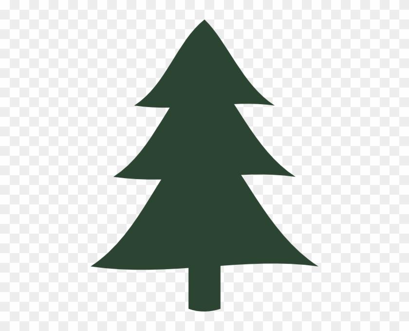 Small Pointy Pine Tree Clip - Pine Tree Clip Art #385397