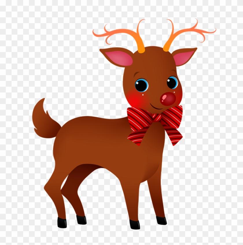 Christmas Reindeer Png.Cute Reindeer Clipart Christmas Reindeer Clipart 6