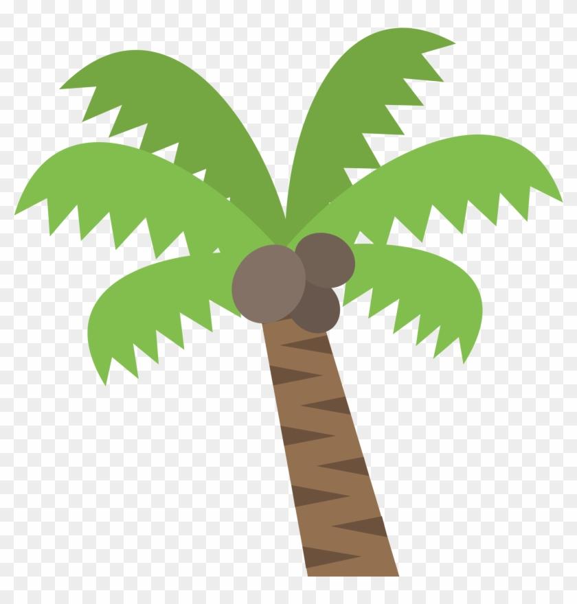 Coconut Tree Cartoon 9, Buy Clip Art - Palm Tree Emoji #385704