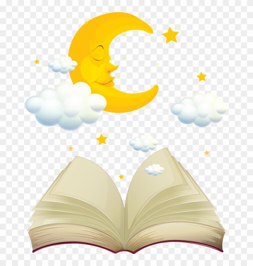 Tubes Livres / Parchemins - Fairy Tales Books Cartoon #385898