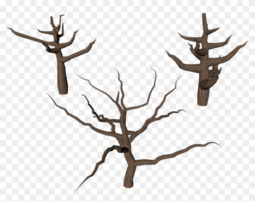 Cartoon Dead Tree 14, Buy Clip Art - Trunk #386008