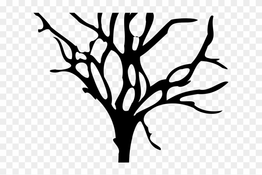 Dead Tree Cartoon - Draw Tree Dead Png #386014