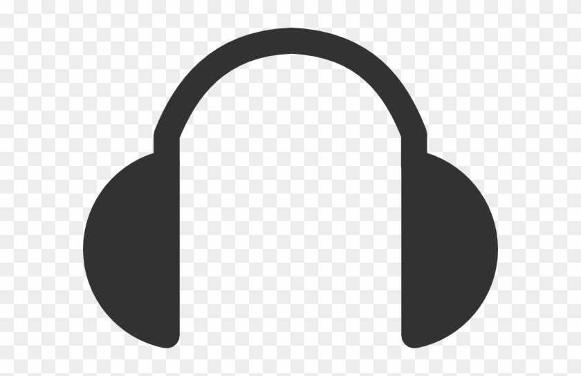 Sound Wave Headphones - Headphones Clip Art Png #61088