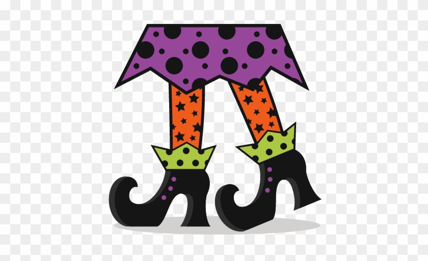 Halloween Witch Legs Clipart - Witch Legs #61092