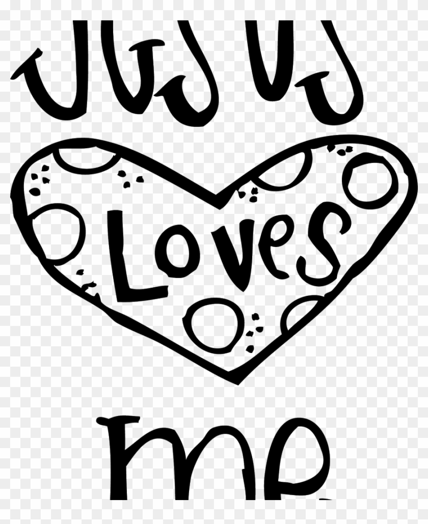 Coloring For Kids Jesus Pages Page Easter Printabl - Jesus Loves Me ...