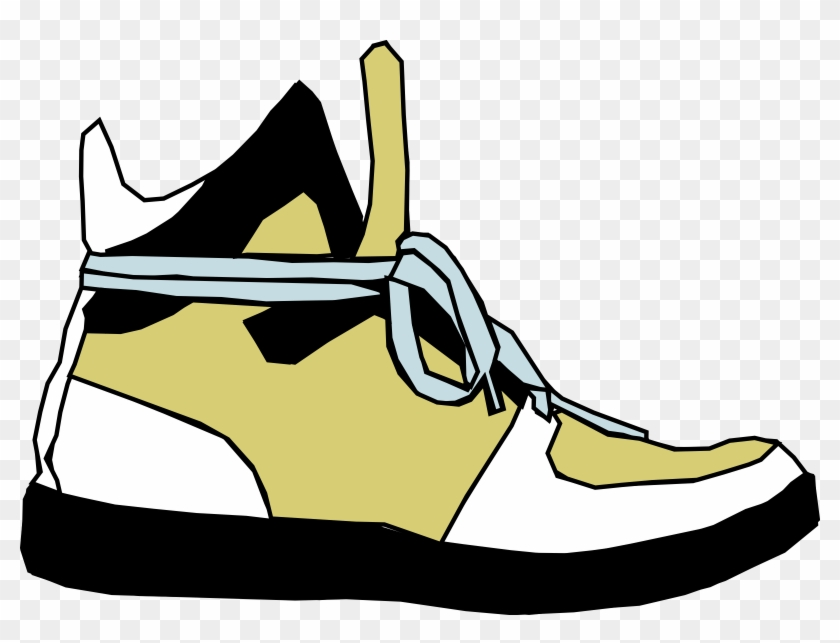Cartoon Foot With Shoe #61228