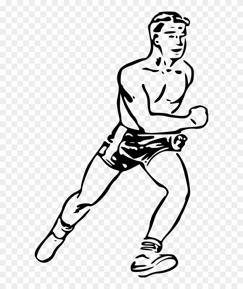 Girl Running Clipart - Runner Clip Art #61241