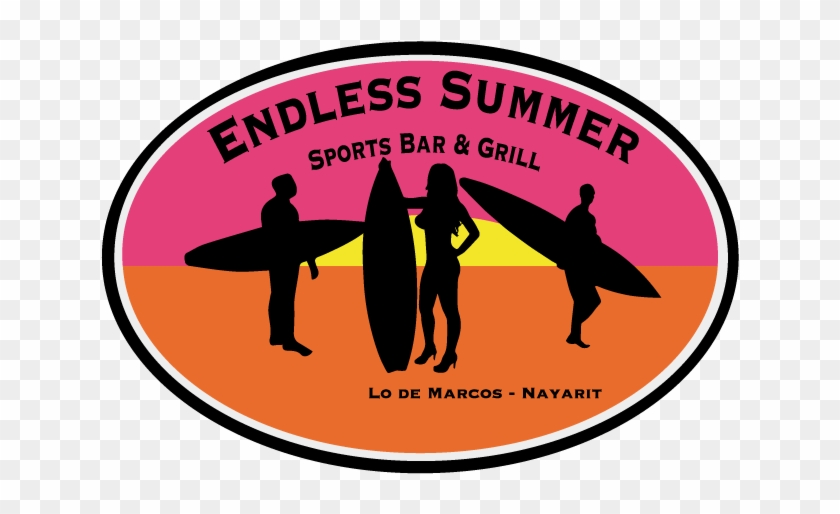 Endless Summer Logo - Zazzle Surfer-mädchen-silhouette T-shirt #61267