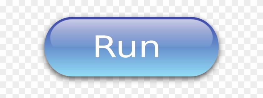 Run Button Svg Clip Arts 600 X 233 Px - Clip Art #61285