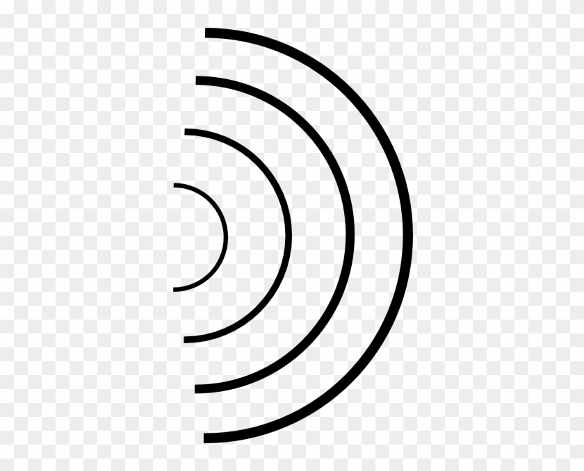 Sound Waves Clipart Transparent #61286