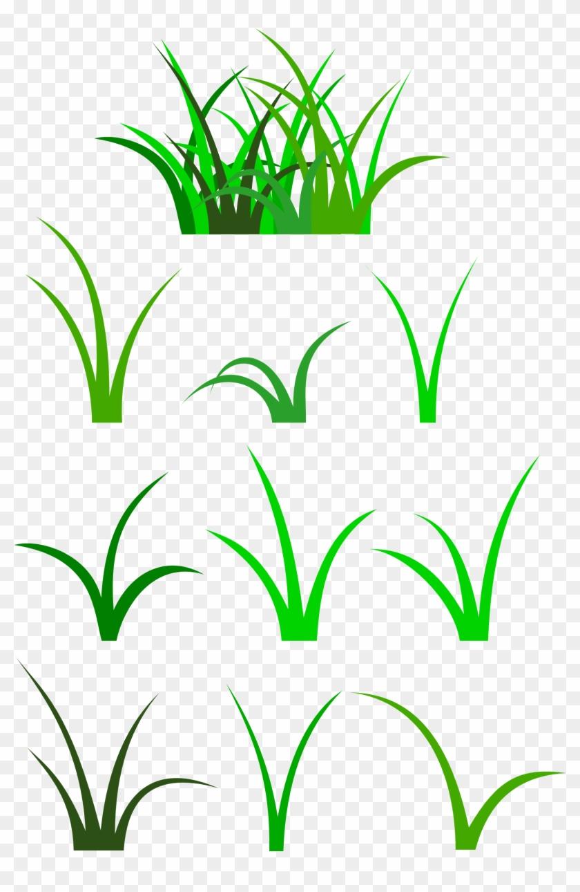 Peg - Clipart - Grass Patch Clipart #61316