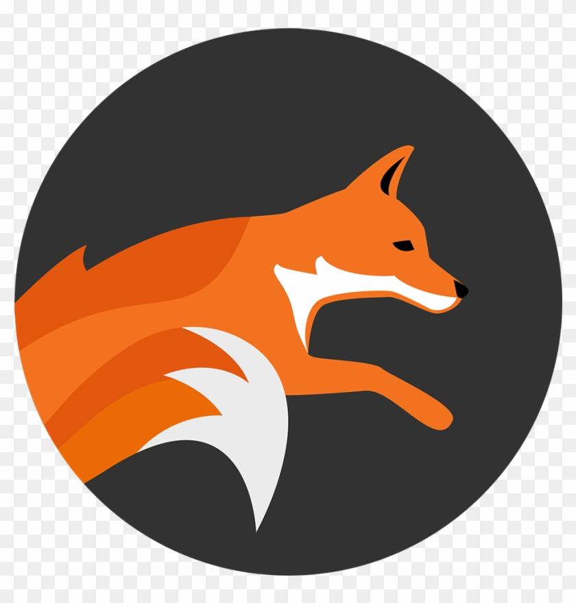 Running Fox Designs Logo - Angel Tube Station #61318
