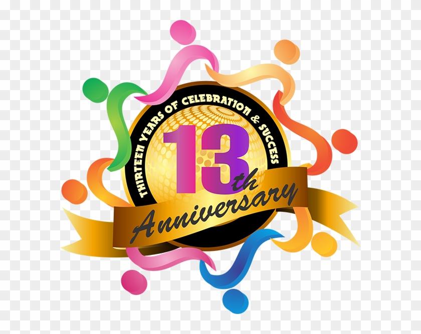 Cheap Web Hosting Server India - 13th Anniversary Logo Png #61343