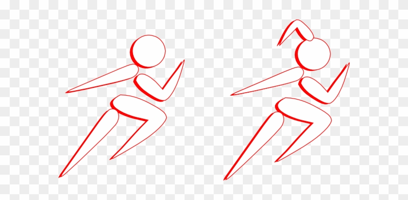 This Free Clip Arts Design Of Boy And Girl Running - Boy And Girl Running Png #61392