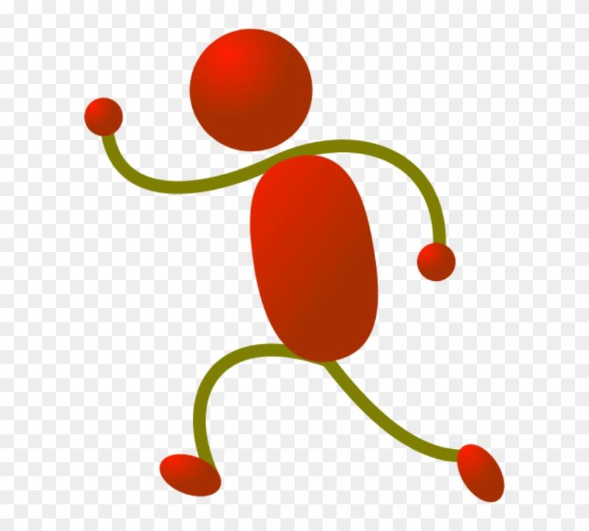 Stick Figure Running Animation Clip Art - Stick Figure Running Animation Clip Art #61436