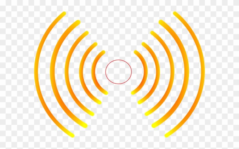 Clip Art Radio Waves Loud Noise - Radio Waves Png #61442