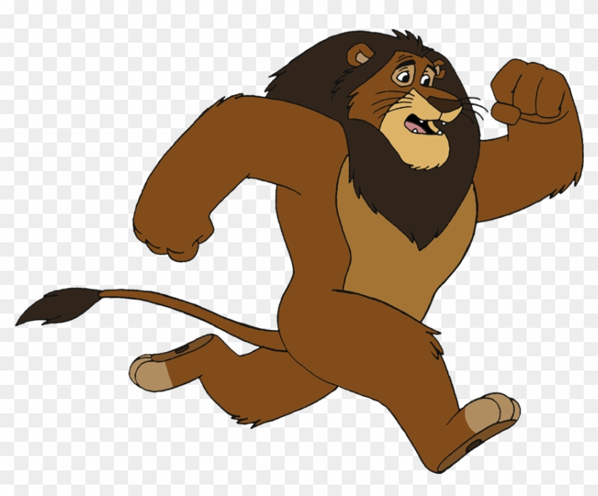 Animated - Scared Lion Clipart #61475